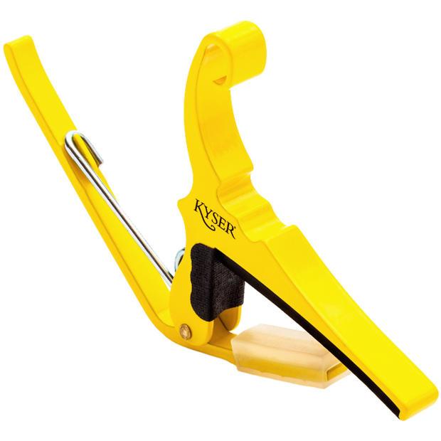 Ernies Auto Sales >> New Kyser KG6Y Yellow Blaze Quick Change 6-String Acoustic Guitar Capo   Reverb