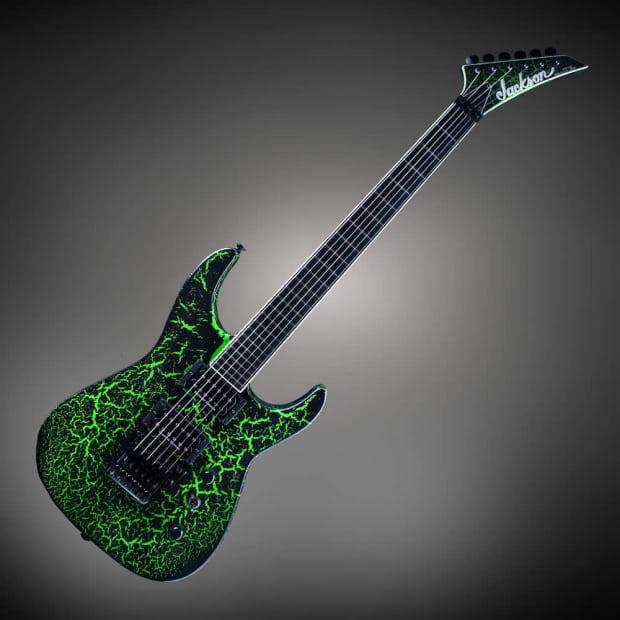 jackson custom select sl2h floyd rose electric guitar black reverb. Black Bedroom Furniture Sets. Home Design Ideas
