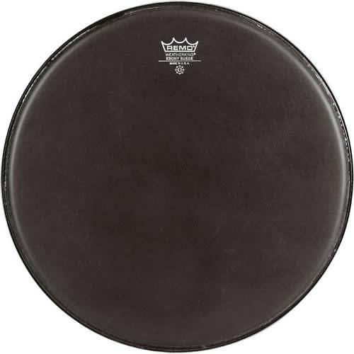 remo 16 black suede powermax bass drum head reverb. Black Bedroom Furniture Sets. Home Design Ideas