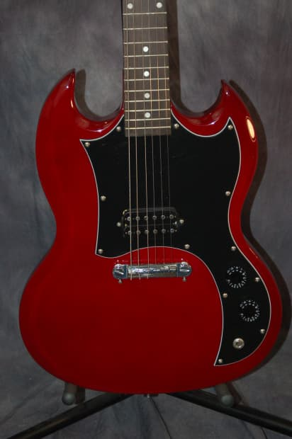 Maestro By Gibson Les Paul Junior 2009 Shiny Cherry Red