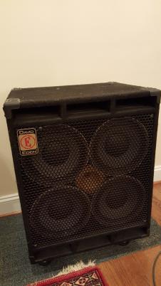 DAVID EDEN  D4x10 Bass Cabinet Black image