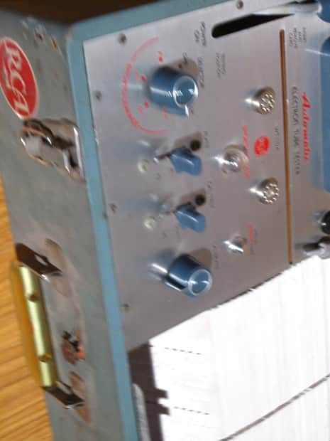 Free Shipping Rca Automatic Electron Tube Tester Wt 110a