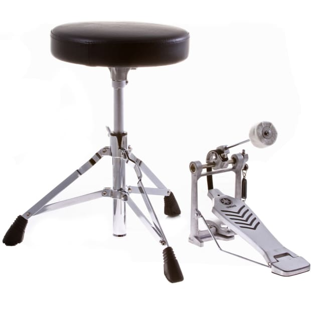 yamaha fp6110 foot pedal and ds 550 drum throne package reverb. Black Bedroom Furniture Sets. Home Design Ideas