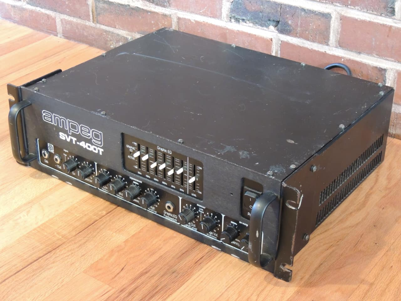 ampeg svt 400t rackmount bass amp head made in usa reverb. Black Bedroom Furniture Sets. Home Design Ideas