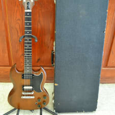 "Gibson Firebrand ""The SG"" 6-String Electric Guitar 1980 USA Walnut image"