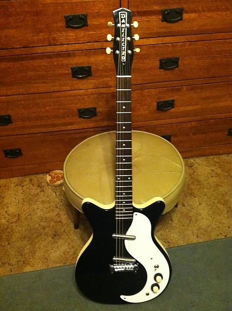 Danelectro 59 Modified Dc 2012 Black Jimmy Page Electric