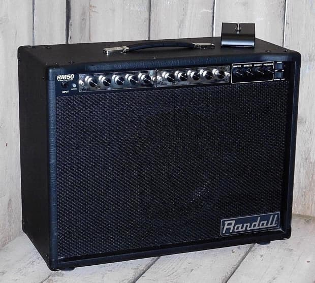 randall rm50 all tube modular combo amp w clean recto reverb. Black Bedroom Furniture Sets. Home Design Ideas