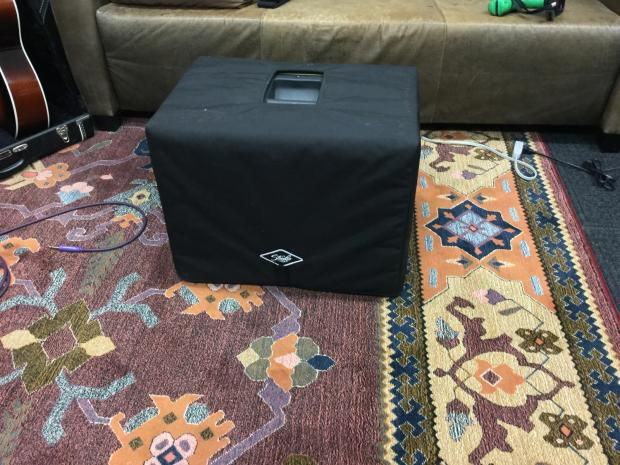 Forte 3d 1x12 Unloaded Cabinet Cover Kickstand Extra Back