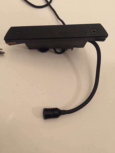fishman rare earth blend humbucking pickup and microphone reverb. Black Bedroom Furniture Sets. Home Design Ideas