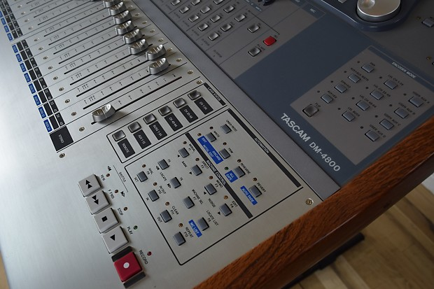 tascam dm 4800 digital mixing console near mint used audio reverb. Black Bedroom Furniture Sets. Home Design Ideas