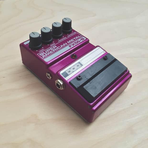 dod fx56 b super american metal distortion pedal reverb. Black Bedroom Furniture Sets. Home Design Ideas