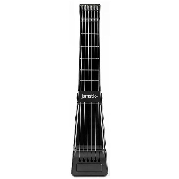 jamstik bluetooth enabled digital guitar with real strings reverb. Black Bedroom Furniture Sets. Home Design Ideas