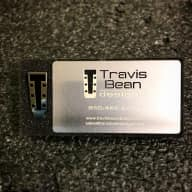 Travis Bean Designs Polished Nickel Pin nd brushed Stainless steel card 2017 polished and brushed