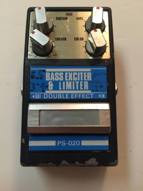 guyatone ps 020 bass exciter limiter double effect rare reverb. Black Bedroom Furniture Sets. Home Design Ideas