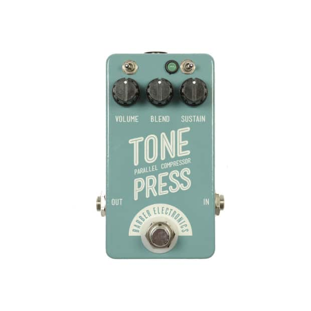 Barber Electronics : Barber Electronics Tone Press Parallel Compression Effects Pedal image