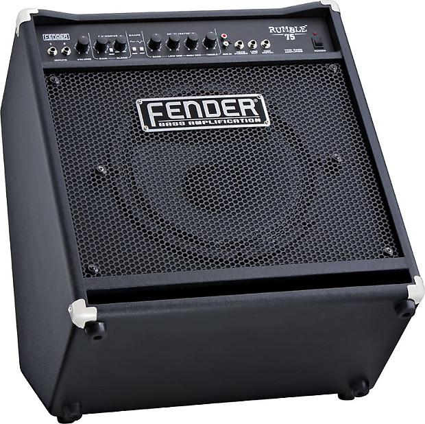 fender rumble 75 1x12 75w bass combo amp reverb. Black Bedroom Furniture Sets. Home Design Ideas