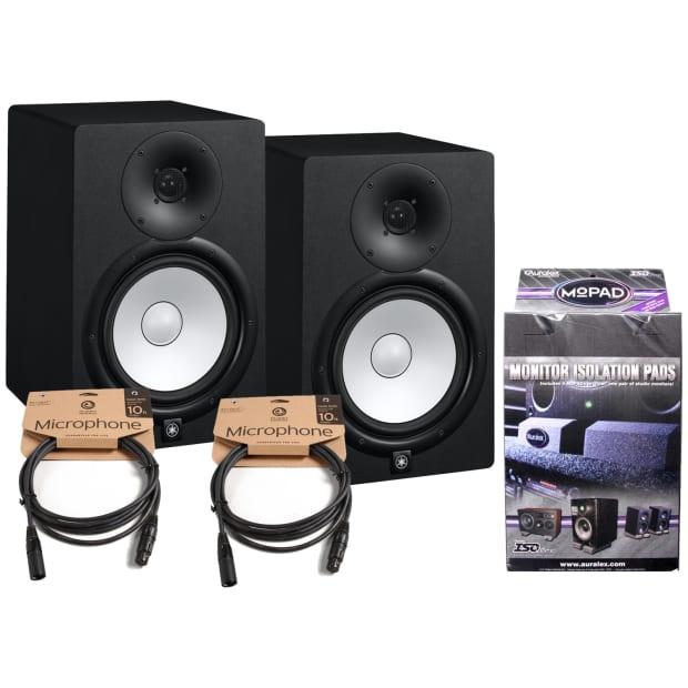 Yamaha Hs Powered Studio Monitor Bundle