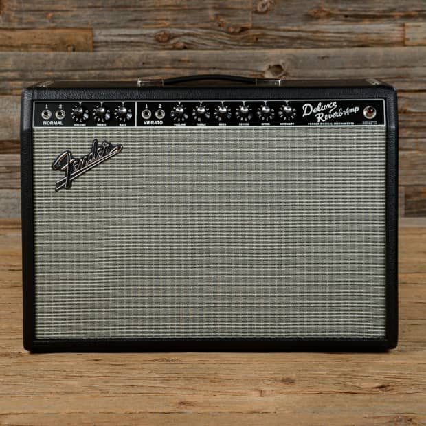 fender deluxe reverb 39 65 reissue 1x12 combo used reverb. Black Bedroom Furniture Sets. Home Design Ideas