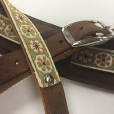 """Souldier """"Crocus"""" Leather Saddle Guitar Strap *Free Shipping* image"""