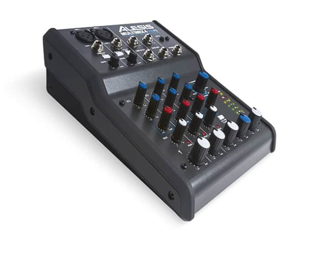 Alesis Multimix 4 USB FX 4-Channel Mixer with Effects Plus ...