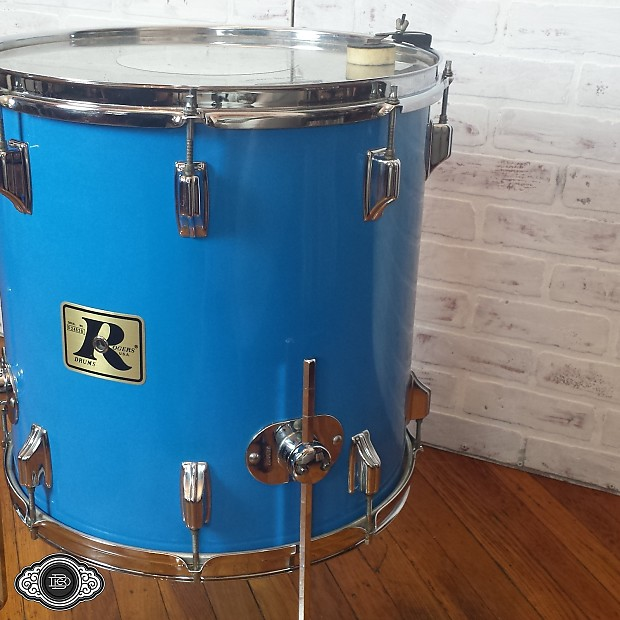 Rogers early 70s big r 16x16 vintage floor tom with reverb for 16x16 floor tom