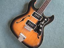 Burns TR2 bass 1963/4 sunburst image