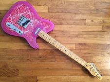 Partscaster Telecaster 2015 Paisley Pink image