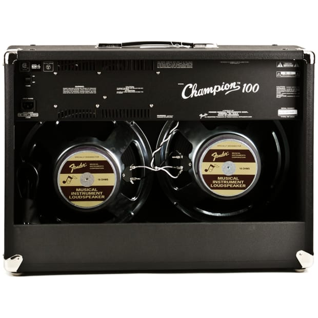 fender champion electric guitar combo amp black 100 watt reverb. Black Bedroom Furniture Sets. Home Design Ideas