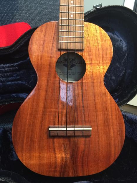 Kamaka Hf 2 Concert Ukulele Made In Hawaii With Koa Wood