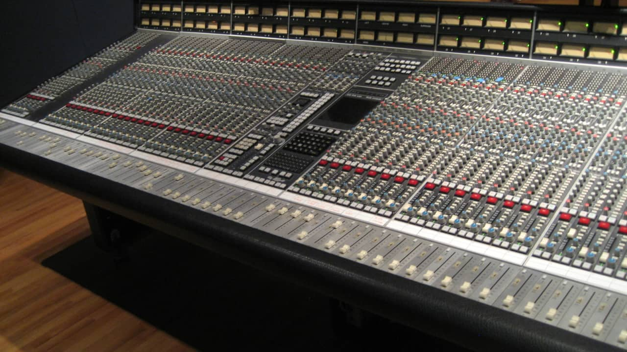 Solid State Logic Ssl 4056 E G Mixing Console Reverb