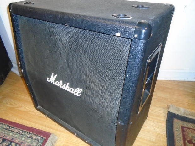 used marshall mg412a 4x12 guitar speaker cabinet reverb. Black Bedroom Furniture Sets. Home Design Ideas