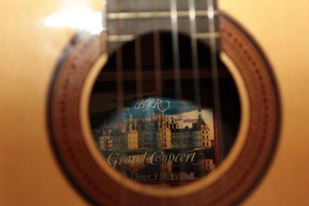 Bruce Auto Parts >> Custom Bruce Rubin Classical Guitar Fleta Inspired 2014 ...