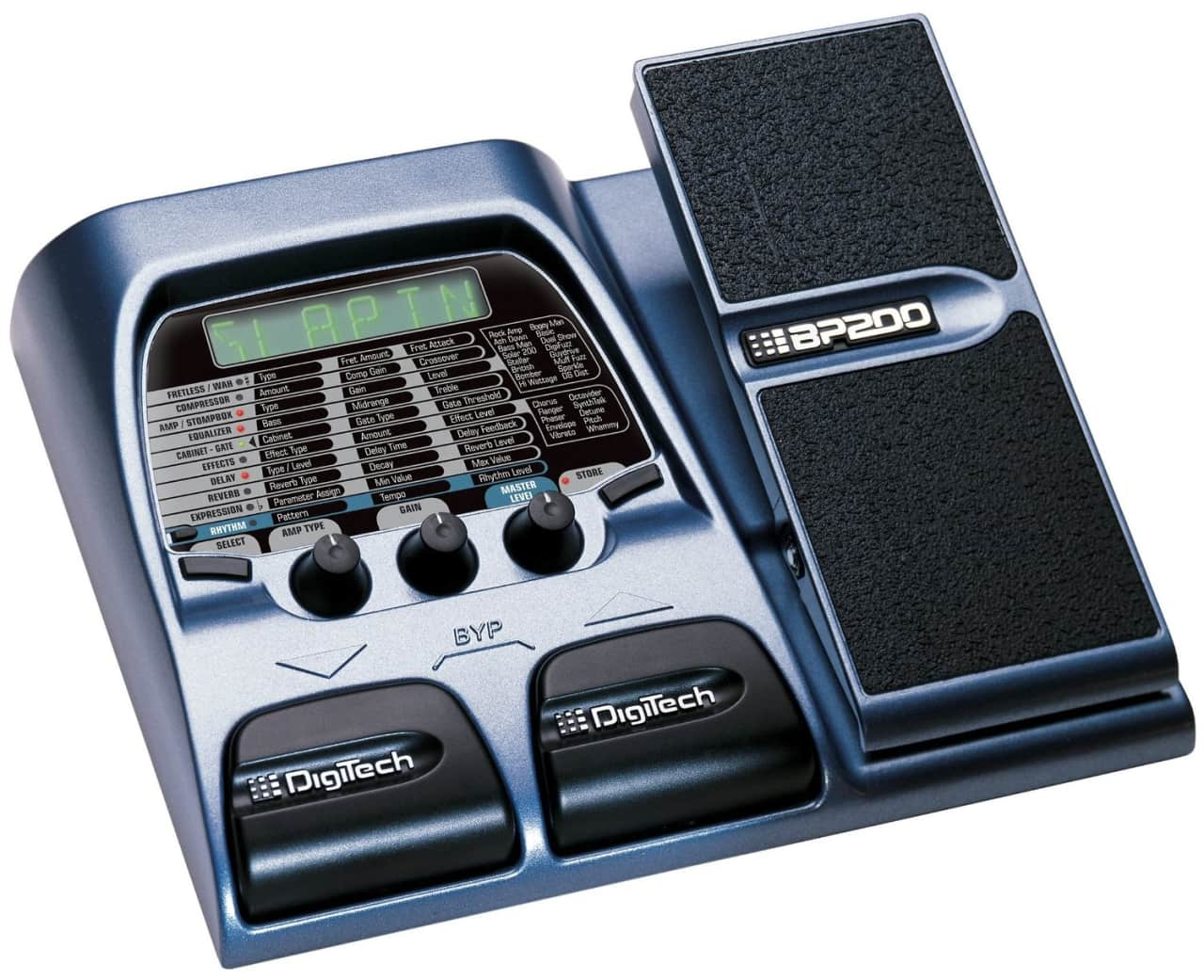 digitech bp200 bass multi effects processor with expression reverb. Black Bedroom Furniture Sets. Home Design Ideas