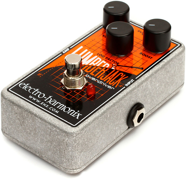 brand new electro harmonix lumberjack logarithmic overdrive reverb. Black Bedroom Furniture Sets. Home Design Ideas