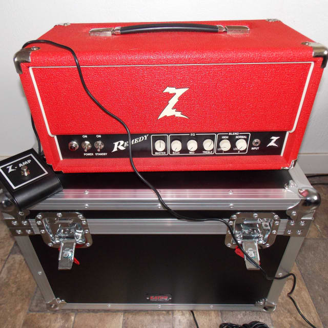Dr Z  Remedy 40w Head - Includes New ATA Case & Padded Dustcover - Serviced and In Perfect Shape image