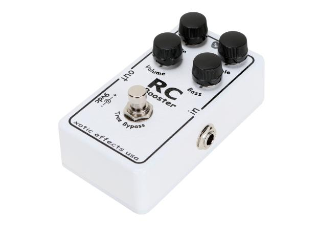 xotic rc booster guitar pedal effects new perfect circuit reverb. Black Bedroom Furniture Sets. Home Design Ideas