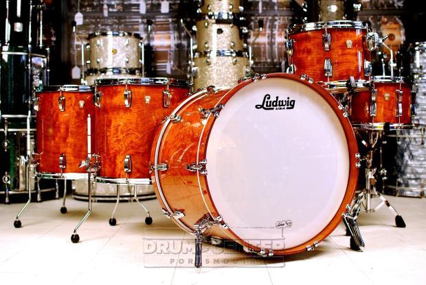 ludwig classic maple 5pc drum set bubinga catalog kit reverb. Black Bedroom Furniture Sets. Home Design Ideas