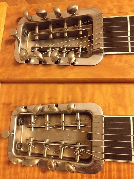 rickenbaker double neck 8 string steel guitar circa 1950 39 s reverb. Black Bedroom Furniture Sets. Home Design Ideas