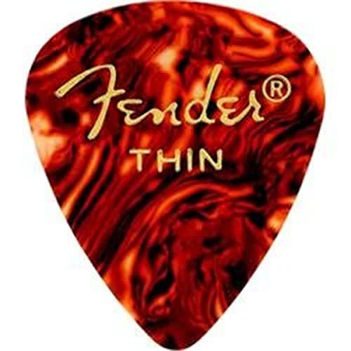 fender 451 shape classic celluloid guitar picks thin reverb. Black Bedroom Furniture Sets. Home Design Ideas