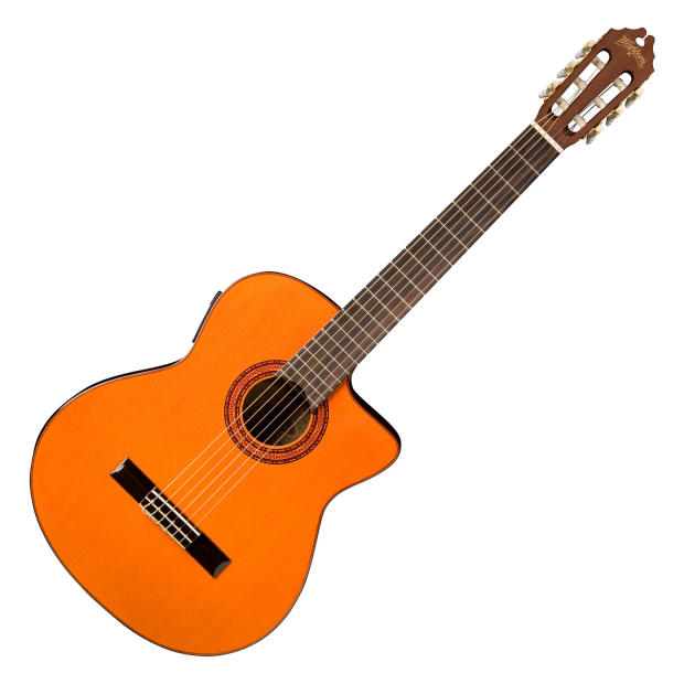 washburn c5ce classic style nylon string acoustic electric guitar reverb. Black Bedroom Furniture Sets. Home Design Ideas