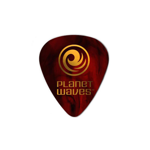planet waves celluloid guitar pick pack shell color heavy reverb. Black Bedroom Furniture Sets. Home Design Ideas