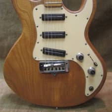 1983 Peavey T-30 Natural Ash Maple Neck 3 Single Coils Short Scale Exc W/ Free US Shipping! image