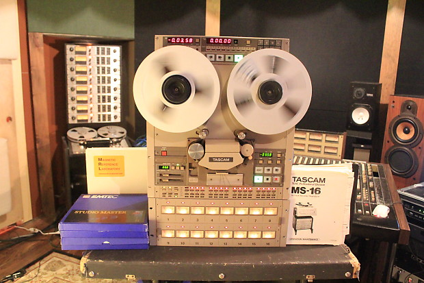 Tascam Ms16 Reel To Reel 1 Quot 16 Track With Remote And