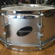 Ludwig Accent CS Combo 6x14 Snare Drum Silver Sparkle image