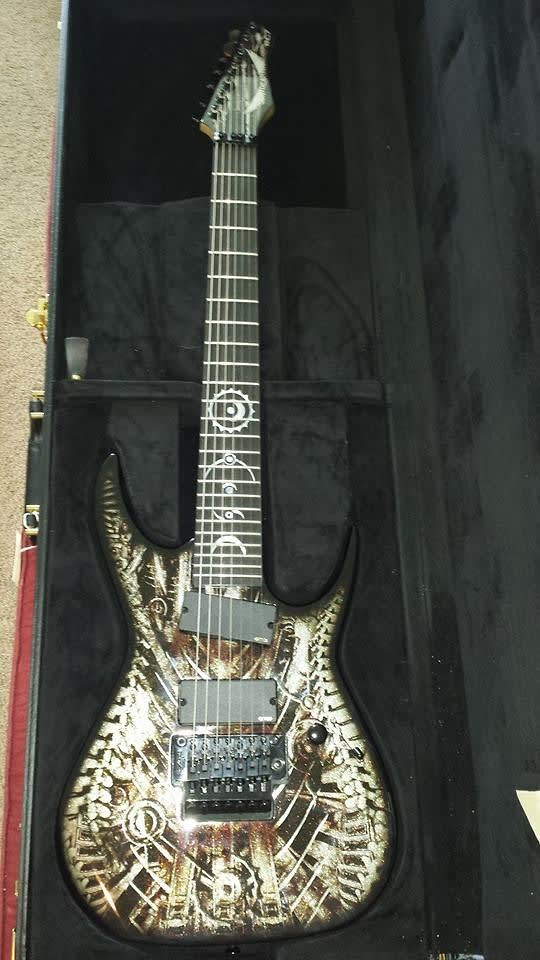 RUSTY COOLEY XENOCIDE Signature  7-STRING