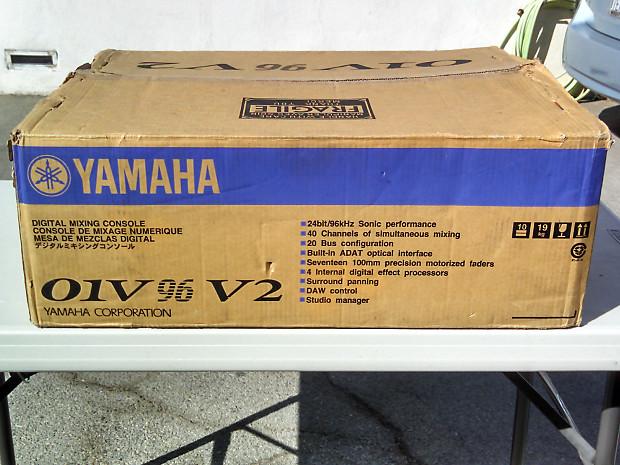 yamaha 01v96 version 2 upgraded to vcm with unlocked vcm fx reverb. Black Bedroom Furniture Sets. Home Design Ideas