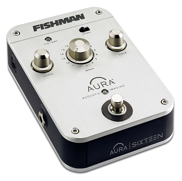 fishman aura sixteen 16 acoustic imaging guitar effects pedal reverb. Black Bedroom Furniture Sets. Home Design Ideas