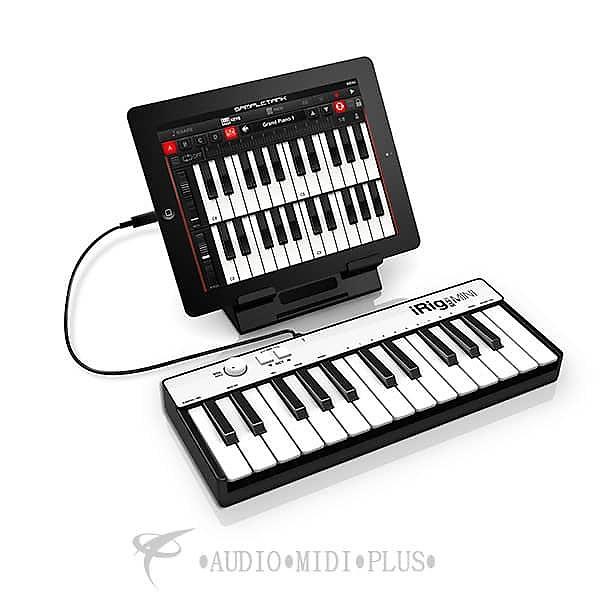 ik multimedia irig keys mini 25 midi controller for iphone reverb. Black Bedroom Furniture Sets. Home Design Ideas