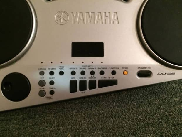 yamaha dd65 electronic drum kit w 2 foot pedals reverb