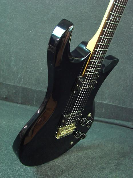 vantage avenger x 77 black electric guitar made in japan x77 reverb. Black Bedroom Furniture Sets. Home Design Ideas
